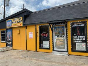 Entrance of A Better Bail Bond Downtown